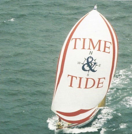 Image of Time and Tide under sail
