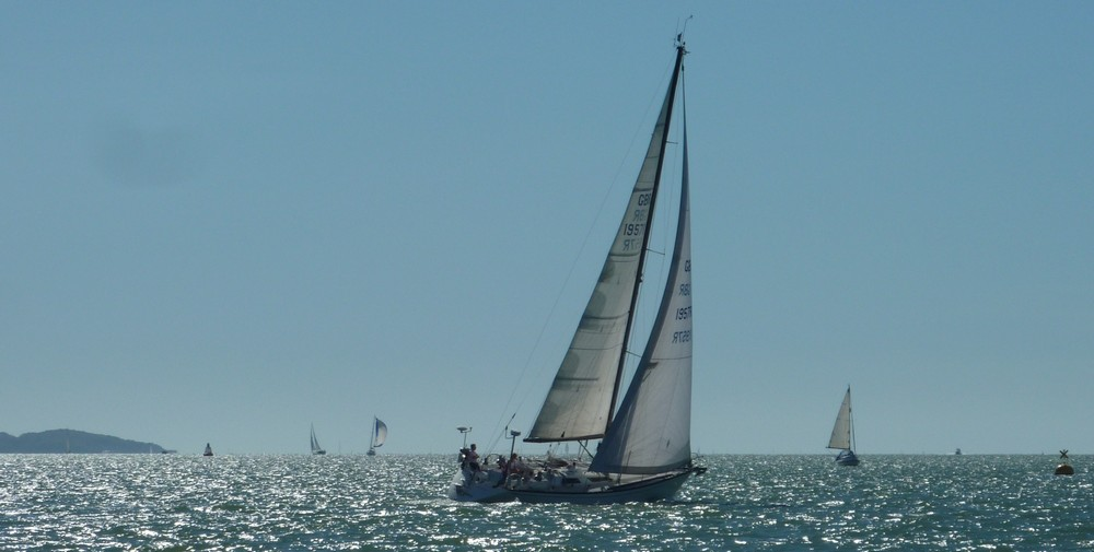 yachts in the Western Solent